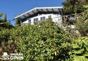 villa indipendente, vista lago, cantina,  piscina, giardino, stagno, pannelli solari, ristrutturata, bagno con jacuzzi,  serra,  alberi da frutto,  3 piani.